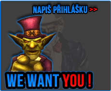 We Want You ! Join us